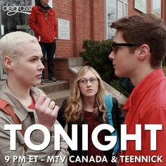 """S14 Ep2 """"Wise Up"""" - Uh oh...The face-off #Degrassi starts at 9 pm ET tonight on MTV Canada & TeenNick!"""