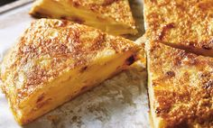Food and home - Tortilla de patatas Home Recipes, French Toast, Veggies, Vegetarian, Eat, Breakfast, Dressing Tables, Spain, Food