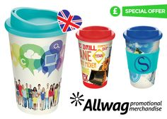 Americano Travel Mug Special Offer! View our latest offer on our bestselling branded travel mug t- the perfect promotional product to promote your business