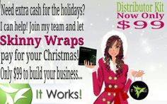 Last Christmas the average American spent $854 on gifts for family and loved ones, and parents spent an average of $271 per child. Enjoy your Christmas without the financial worry! Let me show you how to earn that money and pay cash!  http://www.wrapyourselfskinnyva.com/ or email at wrapyourselfskinny@verizon.net