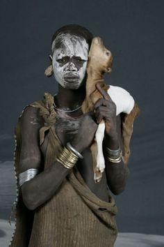 África | Río Omo (Etiopía) Serie de Isabel Muñoz.
