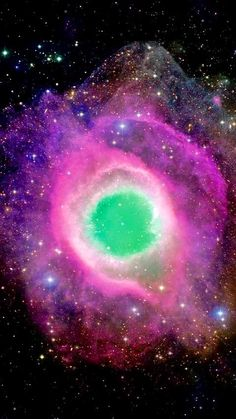 Space - Community - The is an example of a planetary nebula, or 'planetary' formed at the end of a star's evolution. Gases from the star in the surrounding space appear, from our vantage point, as if we are looking down a helix structure. Planetary Nebula, Helix Nebula, Orion Nebula, Cosmos, Hubble Space Telescope, Space And Astronomy, Astronomy Pictures, Nasa Pictures, Sky Watch