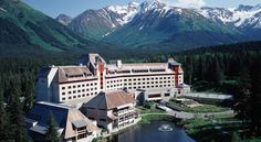 HOTEL|アラスカ・ガードウッドのホテル>アンカレッジから64kmで、アラスカの荒野の中心に位置するホテル>ホテル アリエスカ(Hotel Alyeska)
