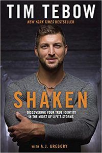 Shaken: Discovering Your True Identity in the Midst of Life's Storms by Tim Tebow (CD-Audio) for sale online New Books, Good Books, Books To Read, Tim Tebow Shaken, Captain America, Thing 1, True Identity, Personal Identity, Jack Kirby