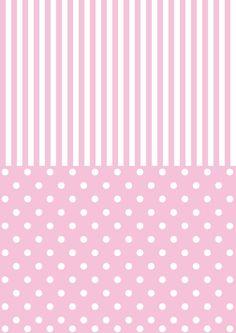 wallpaper printables back pink Paper Background, Background Patterns, Pink Wallpaper, Striped Wallpaper, Printable Paper, Free Paper, Pink Stripes, Polka Dots, Vintage Paper