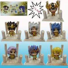 ==> [Free Shipping] Buy Best Newest arrival 2set packed 14 pcs Japana anime Saint Seiya full style pvc action figure toys tall 6cm set.Free shipping for you Online with LOWEST Price | 904235707