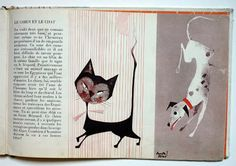 My Vintage Avenue !!! 50's and 60's illustrations !!!: Nos amis les animaux illustrated by Acosta Moro