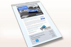 E-Mailing Design für eine GTM Kampagne. Kunde: CKL Software GmbH