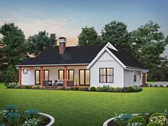 Cyber Monday Ends TONIGHT! Thousands of house plans are 20% off - like this sweet house design. Questions? Call 1-877-222-1762 today. #architect #architecture #buildingdesign #homedesign #residence #homesweethome #dreamhome #newhome #newhouse #foreverhome #interiors #archdaily #modern #farmhouse #house #lifestyle #design #buildersareessential