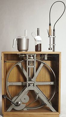 The Pedal Powered Kitchen Multi-Appliance