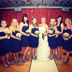 Bridesmaids Bridesmaids, Bridesmaid Dresses, Wedding Dresses, Cruise Ship Wedding, Fashion, Bridesmade Dresses, Bride Dresses, Moda, Bridal Gowns