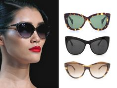 Extend your sunglasses collection with a focus on eyewear trends spring summer 2013. Find out what are the best looks and get the most trendy sunglasses for 2013.
