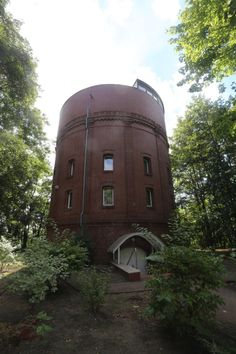 Street Art, Witch, Rook, Houses, Astronomical Observatory, Water Tower, Vacation Places, Hannover, Destinations