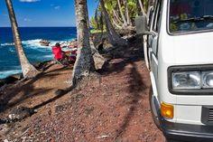 hawaii // vw camper
