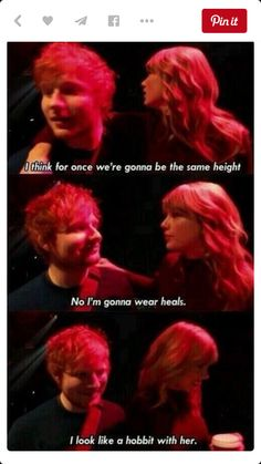 Ts and Ed sheeran