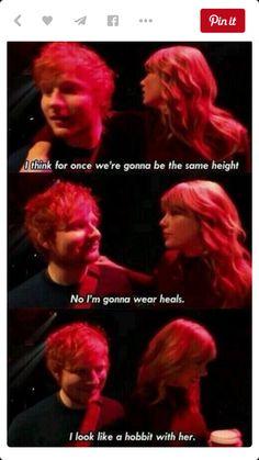 Ts and Ed sheeran