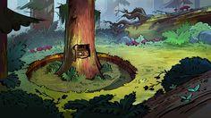 Novas artes na galeria de Gravity Falls, agora por Paul Tuo Tsi   THECAB - The Concept Art Blog