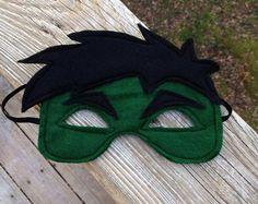 The Hulk Inspired mask Pretend Play Superhero by littleshepsters, $8.00