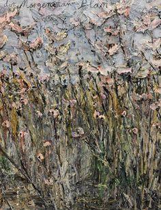 "Anselm Kiefer, ""der Morgenthau-Plan,"" Emulsion, acrylic, on photograph on canvas. 110 x 149 © Anselm Kiefer."