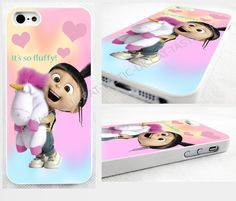 DESPICABLE me AGNES fluffy PONY unicorn,minions case,cover for apple iPhone,iPod in Mobile Phones & Communication, Mobile Phone & PDA Accessories, Cases & Covers | eBay