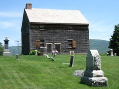 the Old Quaker Meeting House in Adams, Massachusetts founded by Smithfield, RI Quakers