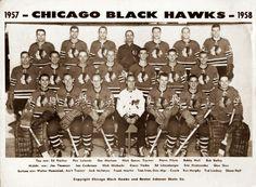 1957-58 Black Hawks