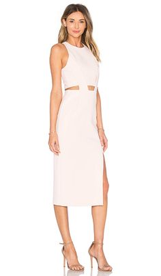 Shop for NICHOLAS Bandage Waist Cut Out Dress in Parfait Pink at REVOLVE. Free 2-3 day shipping and returns, 30 day price match guarantee.