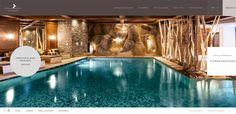 Cheval Blanc Hotel #website #web #webdesign #hotel #travel #spa #wellness #holiday