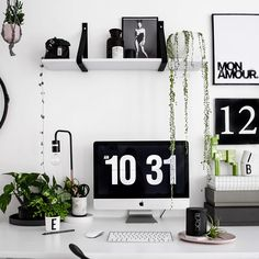 cute little office space | home office, work from home, computer table, plants green, home inspiration, house, living space, room, scandinavian, nordic, inviting, style, comfy, minimalist, minimalism, minimal, simplistic, simple, modern, contemporary, classic, classy, chic, girly, fun, clean aesthetic, bright, white, pursue pretty, style, neutral color palette, inspiration, inspirational, diy ideas, fresh, stylish, 2017, sophisticated