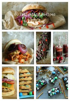 80 Tailgating Recipes I Heather Christo by Heather Christo @Heather Creswell Christo