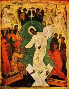 """Resurrection of Jesus, Coptic; """"He's alive and I'm forgiven. Heavens gates are open wide."""""""