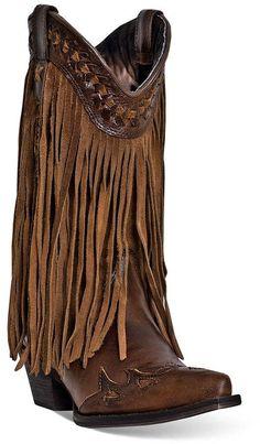 Dingo Heart Throb Fringe Boots