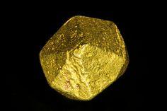 Gold crystal from Mina Zapata, Bolívar, Venezuela