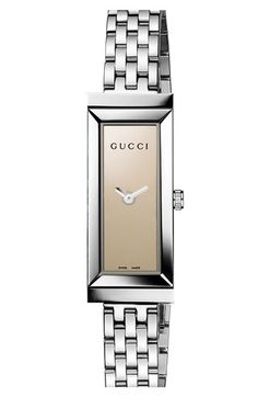 Gucci 'G-Frame' Small Rectangle Bracelet Watch available at #Nordstrom