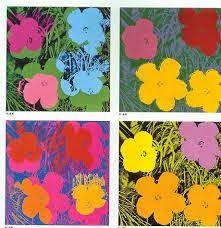 .::Un mundo de pequeñas cosas::.: 673.- Las flores de Andy Warhol TÉCNICAS