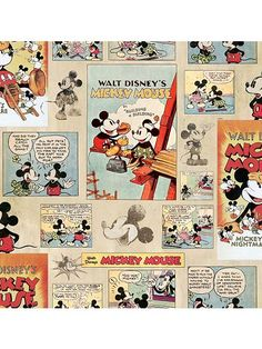 Mickey Mouse Vintage Wallpaper