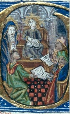 Masters of Bezborodko workshop, Master of the Brussels Hours Initial G: Christ Among Doctors Holland (c. Illuminated Manuscript, 100 x 65 mm. Slavery History, Art History, Medieval Life, Medieval Art, Person Of Color, Illuminated Manuscript, Drawing People, Black Art, Latin Dance