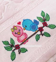 Hand Embroidery Stitches, Cross Stitch Embroidery, Embroidery Patterns, Cross Stitch Patterns, Cross Stitch Bookmarks, Cross Stitch Rose, Filet Crochet, Baby Knitting Patterns, Kids Rugs