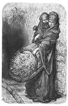 Gustave Doré. Flower Girl - Beautiful, ever!