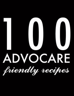 100 Advocare Recipes - jenny collier blog  This blog is magical