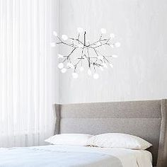 Heracleum II Small LED Chandelier for your dining room table