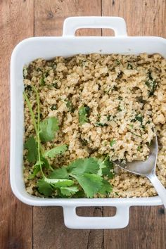 cilantro lime cauliflower rice Gluten Free Low-Carb Whole 30 Healthy-3