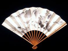 Japanese Hand Fan Vintage Paper Fan Sensu F43 by VintageFromJapan, $9.50 #Japan #art #JPN #vintage
