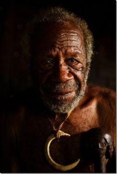 Old-chief-South-West-Bay-Malekula in Vanuatu