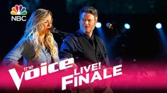 """The Voice 2017 Lauren Duski and Blake Shelton - Finale: """"There's a Tear ..."""