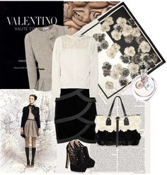 """""""VALENTINO"""" by ellie366 ❤ liked on Polyvore"""