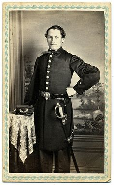 A Massachusetts Master's Mate in the West Gulf Blockading Squadron  CDV via Faces of the Civil War