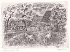 Boerderij met geiten 1984