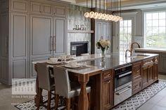 Consider Installing Kitchen Islands To Go With Your Unique Kitchen Design – Home Dcorz Kitchen Cabinet Inspiration, Kitchen Cabinet Styles, Kitchen Ideas, Cabinet Ideas, Cabinet Plans, Kitchen Pictures, Kitchen Cabinetry, Kitchen Backsplash, Galley Style Kitchen