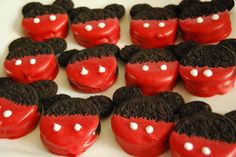 Easy Mickey Mouse Oreo Cookies